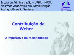 Aula - Max Weber