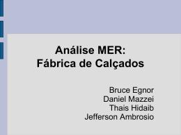 Analise MER: Fabrica de Calçado