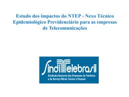 Estudo dos impactos do NTEP