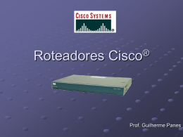 Roteadores Cisco (RDCP