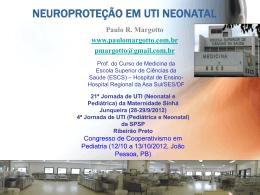 Neuroproteção em UTI Neonatal