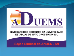 ADUEMS - Andes-SN