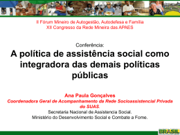 Ana Paula Gonçalves - Uniapae-MG