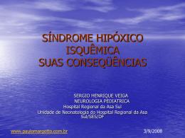 Síndrome hipóxico-isquêmica:suas conseqüências