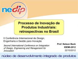 Caracterização funcional de produtos e suas funções