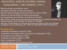 Francisco José de Oliveira Vianna (Saquarema, 1883