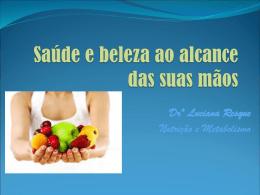 Saúde ao alcance das suas mãos