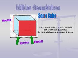 Características dos sólidos geométricos