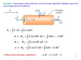 Aplicações e Condutores em equilíbrio electrostático