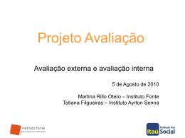 avaliacao+externa+e+interna