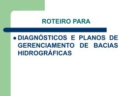 roteiro paradiagnosticos