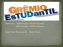 O que é Grêmio? - DERF - Diretoria de Ensino