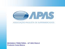 Mudança Tributária - UF São Paulo