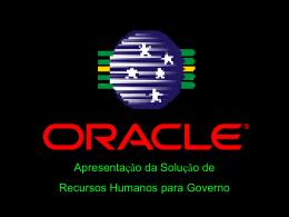 Recursos Humanos Governo Tradicional