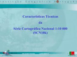 Características técnicas da 10k, cartografia e ortofotocartografia