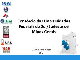 Consórcio das Universidades Federais do Sul/Sudeste de Minas