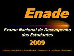 Enade 2009