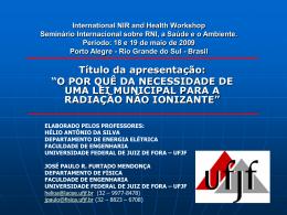 18 e 19 de maio de 2009 Porto Alegre - Rio Grande do Sul