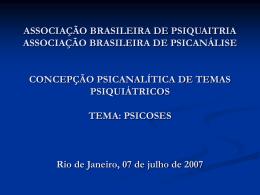 Miguel Adad - Associação Brasileira de Psiquiatria