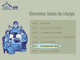 U6 liturgia das Horas