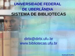 biblioteca setorial – educação física