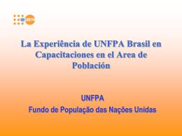 Relatório sobre o Estado da População Mundial 2004
