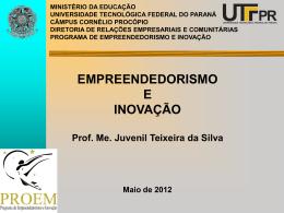 Empreendedorismo e Inovação - CE PROF MAILON MEDEIROS