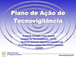 Plano de Ação de Tecnovigilância