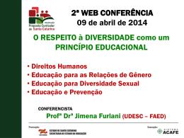 Educação - Proposta Curricular SC 2014