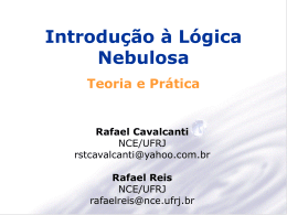Introdução à Lógica Nebulosa