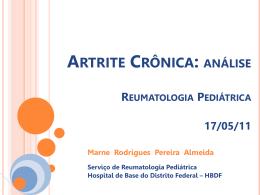 Artrite crônica - Paulo Roberto Margotto