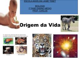 ORIGEM DA VIDA 2