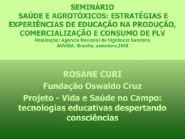 Projeto - Vida e Saúde no Campo tecnologias educativas