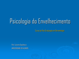 Apresentação - Universidade do Algarve