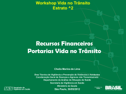 Workshop Vida no Trânsito