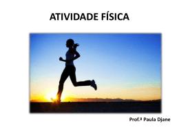 slides atividade fisica e Sedentarismo-9ano