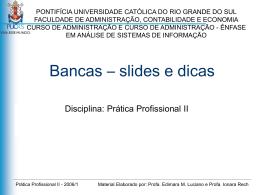Guia para apresentação de slides na Banca