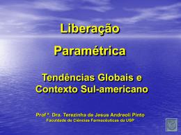 HARMONIZAÇÃO INTERNACIONAL TESTE DE