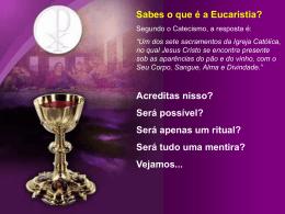 Eucaristia - Padre Alexandre