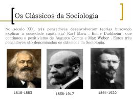 Os Clássicos da Sociologia - Arquitetura e Urbanismo Pitágoras