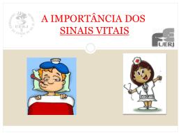 a importância dos sinais vitais - Universidade Castelo Branco