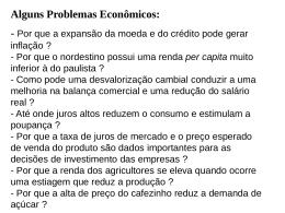 mercado dos fatores de produção.