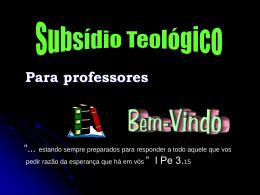 Teologia - ebdcriciuma.com.br