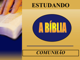 comunhão - WordPress.com