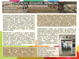 ENTRE EDUCAÇÃO, ECOSOFIA, INVENÇÃO: OUTROS