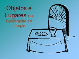 Objetos Sagrados e Litúrgicos-Palestra