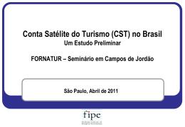Estudo Preliminar da CST no Brasil