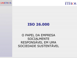 ISO 26.000 introducao
