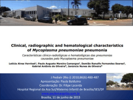 Características clínico-radiológicas e