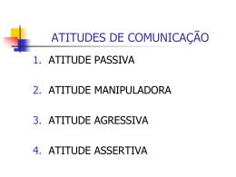Comunicacao - atitudes